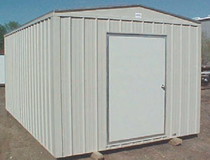 metal storage building houston